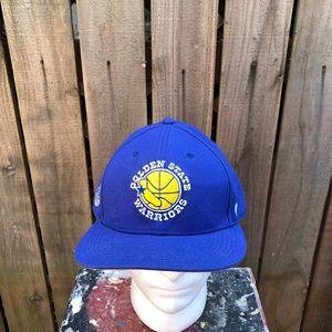 NBA Mens Golden State Warriors Snapback Hat